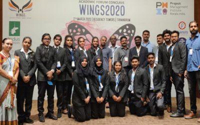 PMI ACADEMIC FORUM CONCLAVE – WINGS 2020