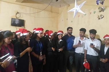 CHRISTMAS CELEBRATIONS @ AMBEDKAR MEMORIAL ORPHANAGE