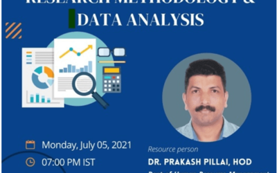 WORKSHOP ON RESEARCH METHDOLOGY & DATA ANALYSIS
